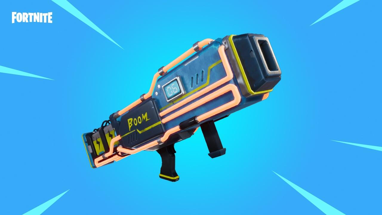 Fortnite, arma lanzador noble