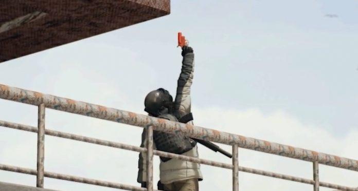 ¿Será la pistola de bengalas un nuevo objeto en PUBG?