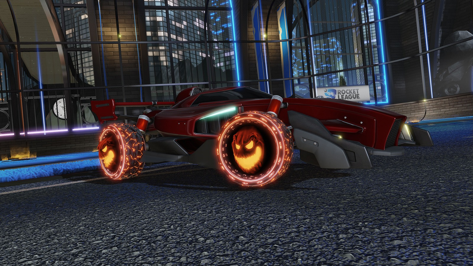Haunted Hallows Vuelve A Rocket League Por Halloween Full