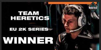 Heretics gana el segundo 2K series - 11/12 Noviembre