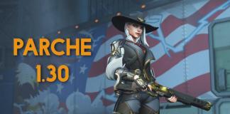 El parche 1.30 de Overwatch incluye a Ashe.