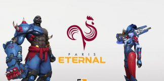 Logo y colores de Paris Eternal