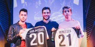San Miguel renueva patrocinio con Heretics hasta 2021