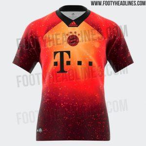 Cuarta camiseta del Bayern