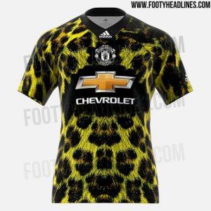 Cuarta camiseta del Manchester United
