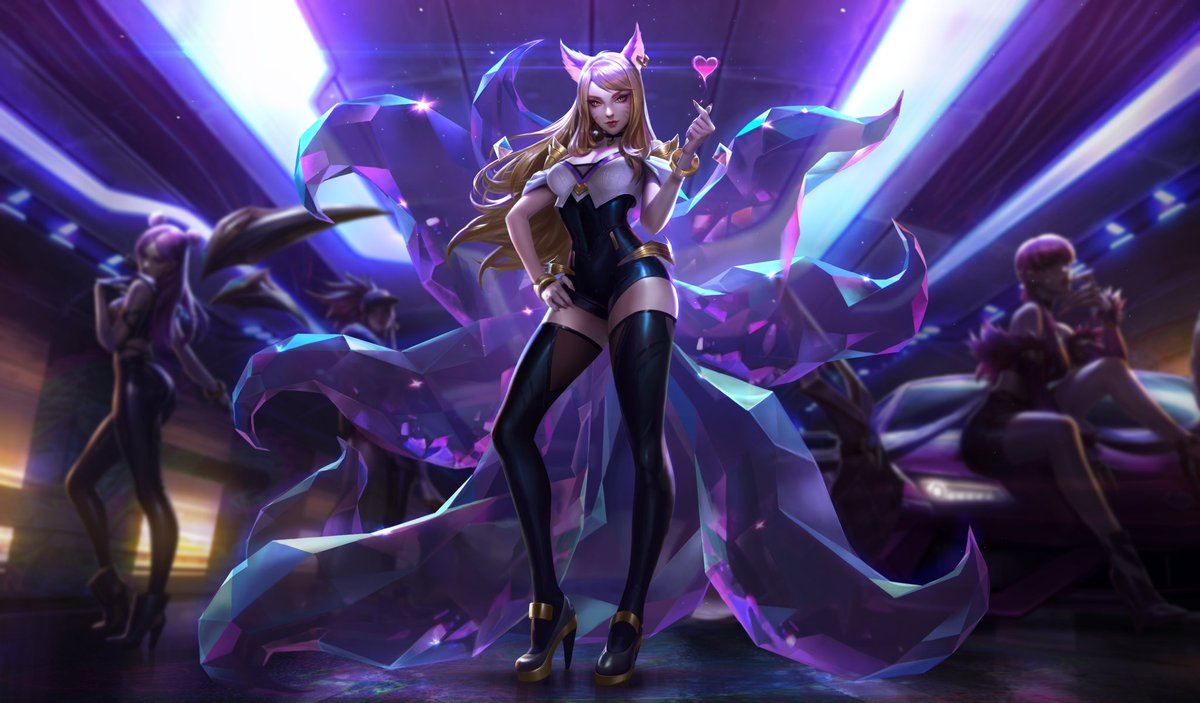 Aspectos KDA de League of Legends