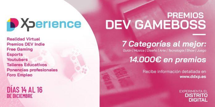 Tercera edición de los premios DEV Gameboss en el evento digital de Elche