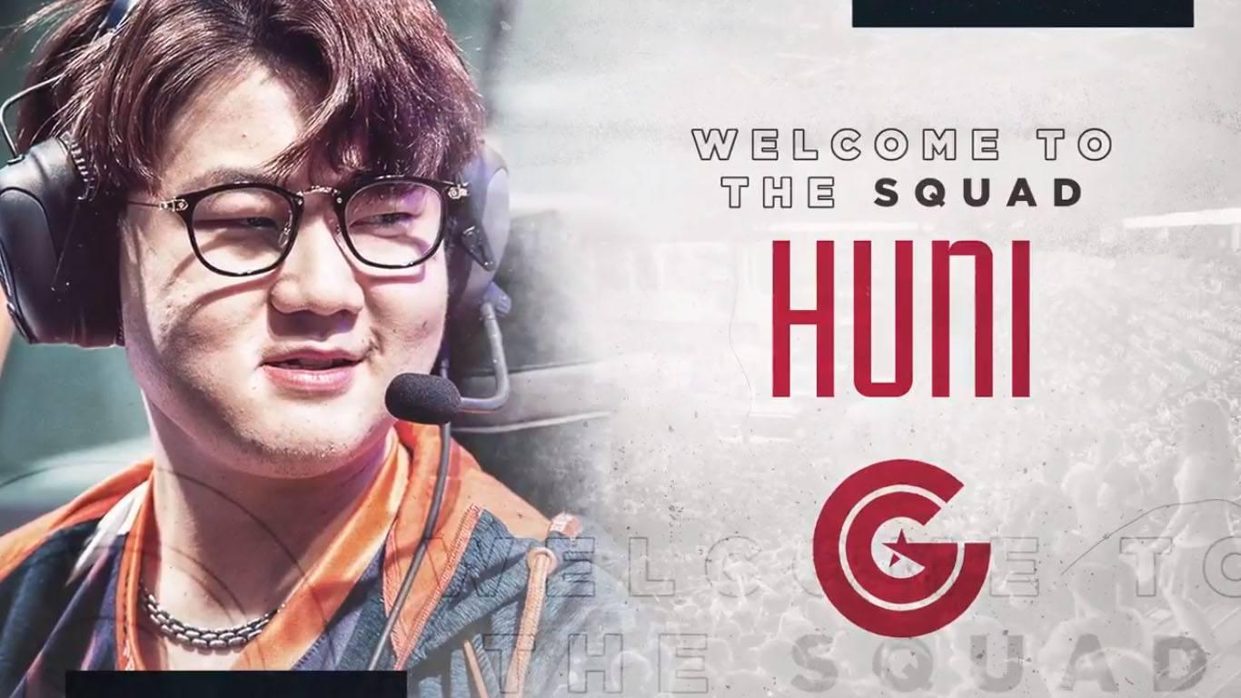 Huni, fichaje estrella de Clutch Gaming para la próxima temporada por parte de Clutch Gaming