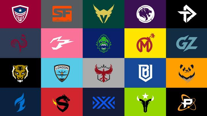 Equipos de la Overwatch League 2019.
