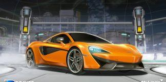 McLaren 570S de Rocket League