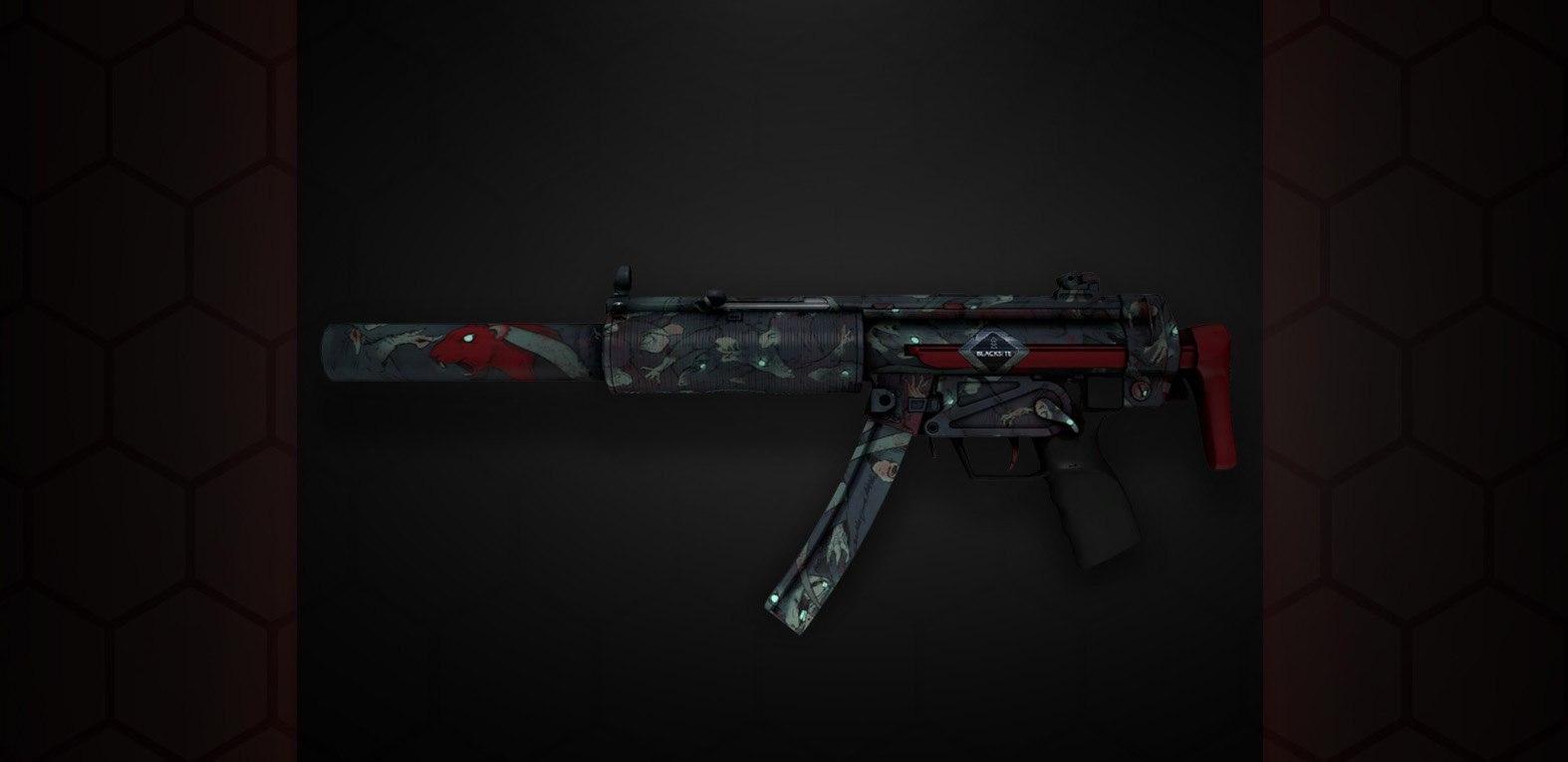 CS:GO Danger Zone MP5-SD