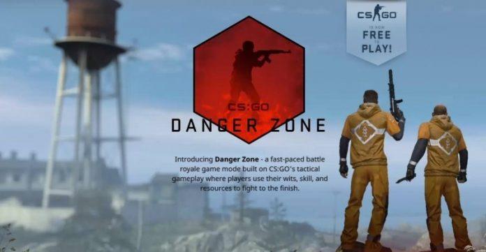 CS:GO se vuelve gratuito con la salida de su Battle Royale: Danger Zone
