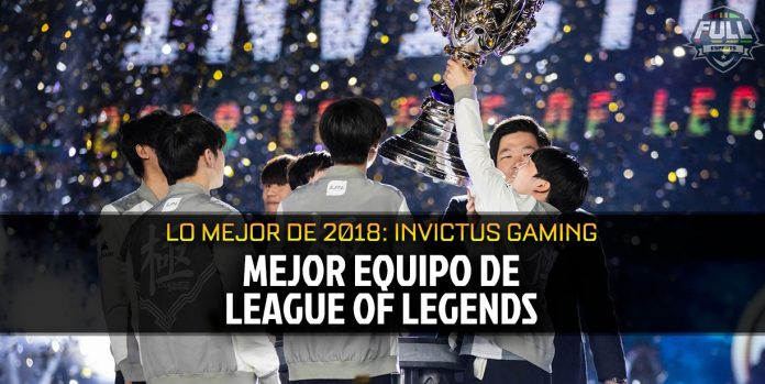 El mejor equipo de 2018 en League of Legends: Invictus Gaming