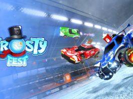 Frosty Fest, la fiesta invernal de Rocket League el 17 de diciembre