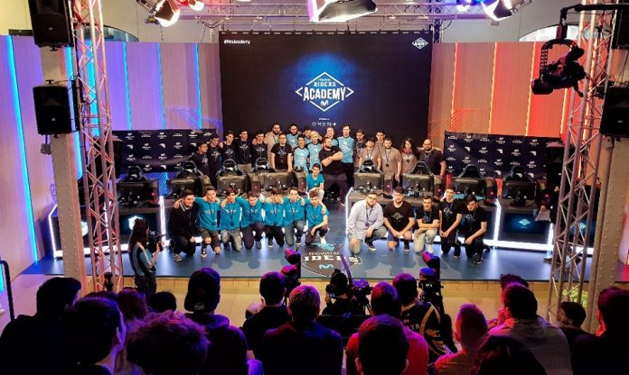 Movistar Riders Academy final en Madrid 2018