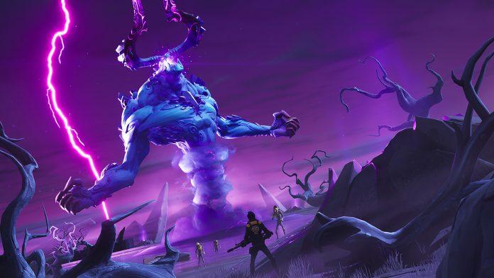 El Rey de la Tormenta llega a Salvar el mundo en la Temporada 7 de Fortnite