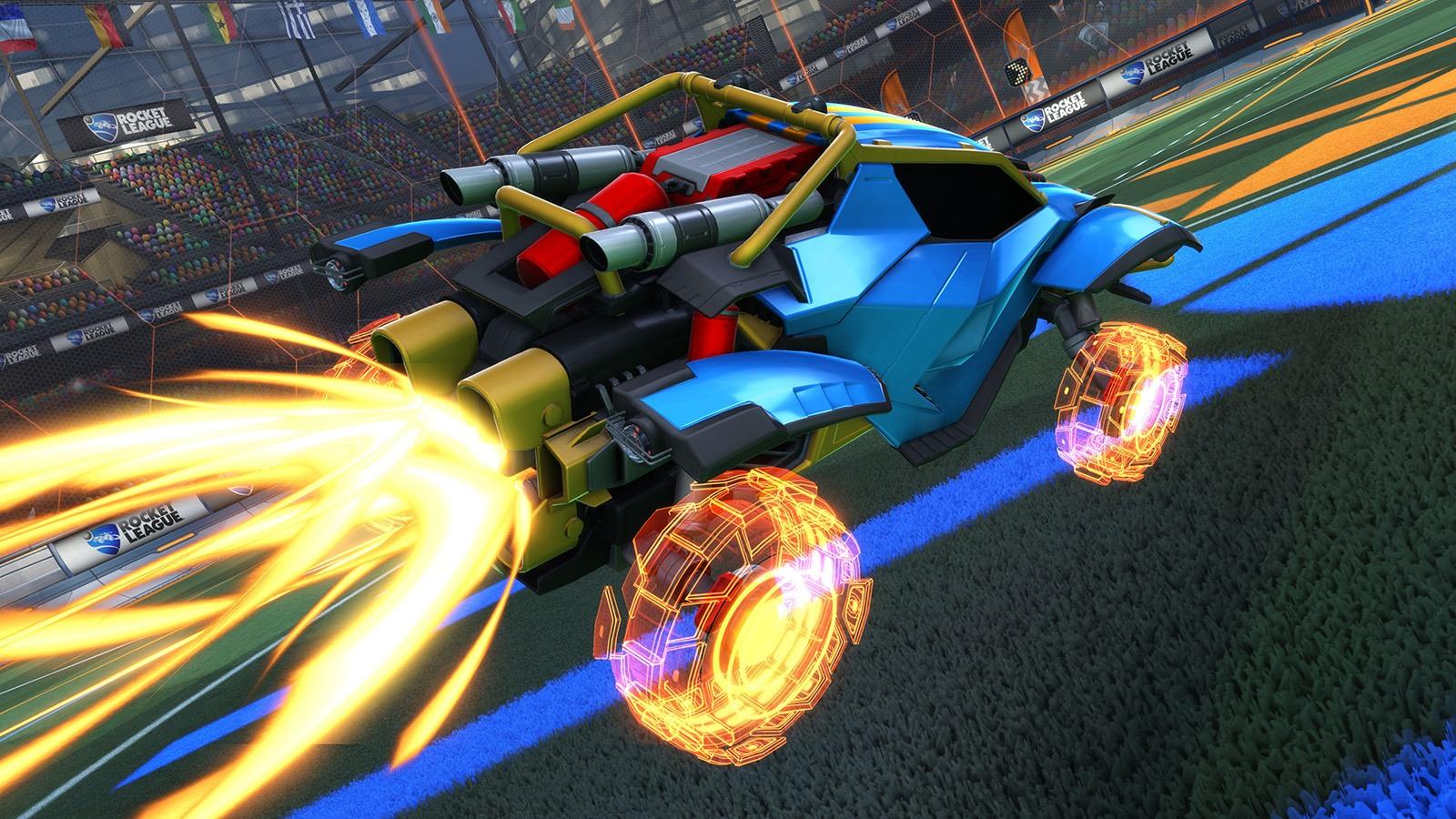 """Las nuevas ruedas """"Rocket Forge II"""" incluidas en el Rocket Pass 2 de Rocket League"""