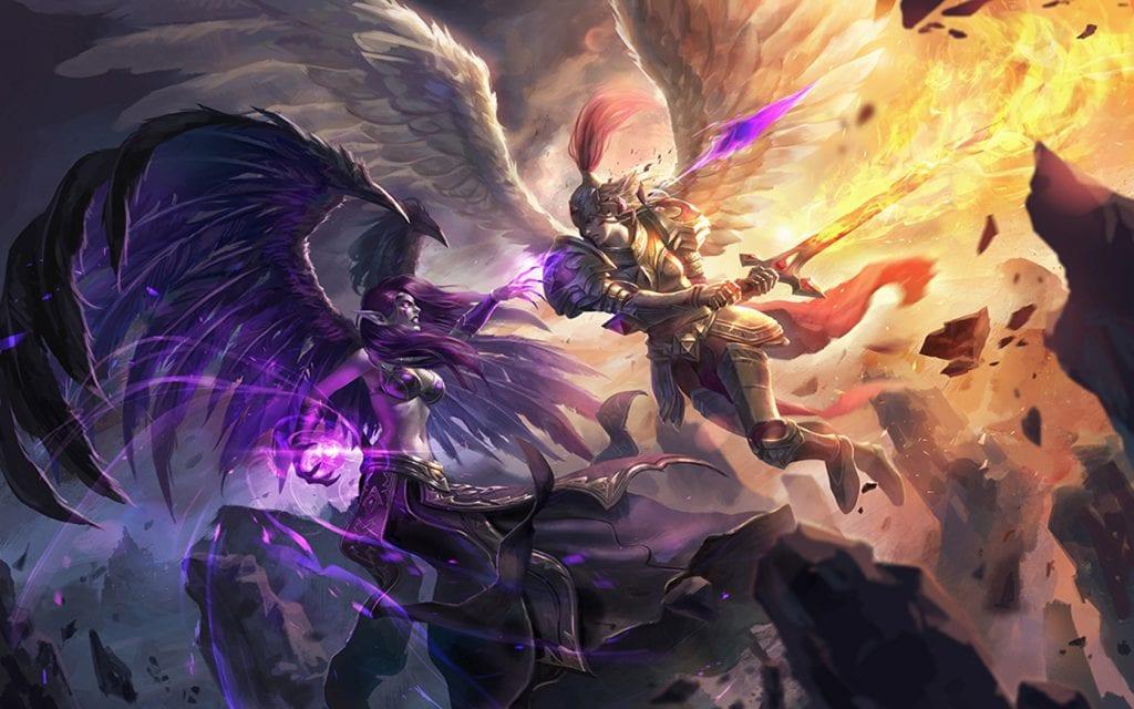 League Of Legends Revela Los Rework De Kayle Y Morgana