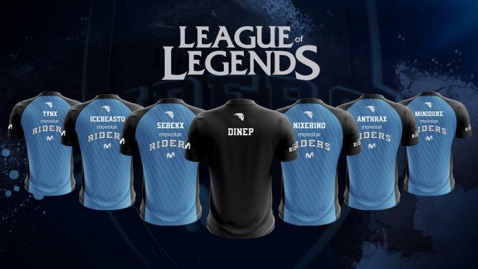 Movistar Riders presenta su nueva plantilla de League of Legends