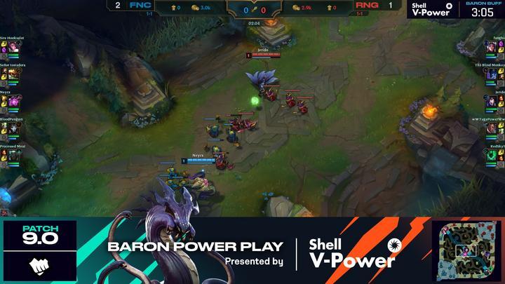 LEC Baron Power Play de Shell