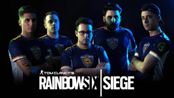 Team Queso Rainbow Six