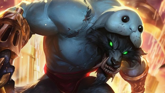 Warwick Urf skin. Skins League Of Legends