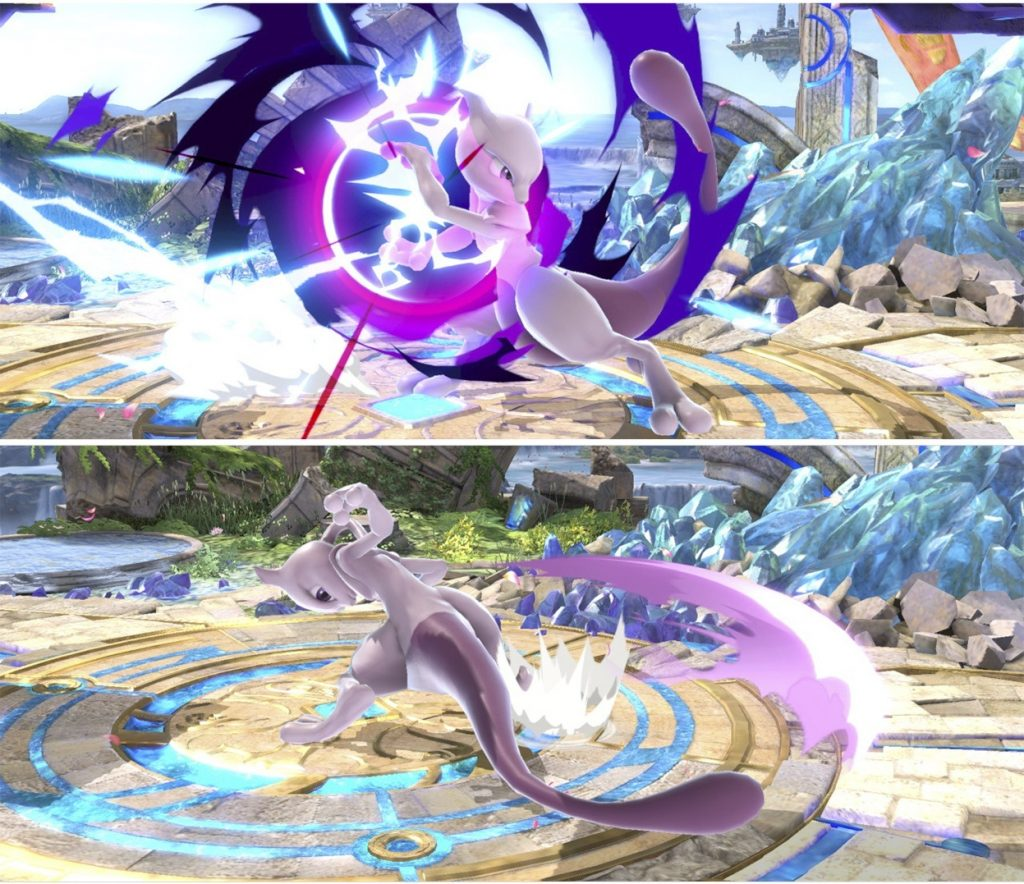 NeutralB and Dtilt Mewtwo Smash Ultimate