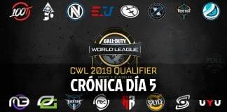 Quinto día del Qualifier a CWL Pro League: Riders no pudo lograrlo