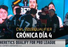 Cuarto día del Qualifier a CWL Pro League: ¡Heretics lo hizo!