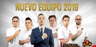 El MAD Lions para la SLO de LoL 2019, con Moopz como entrenador.