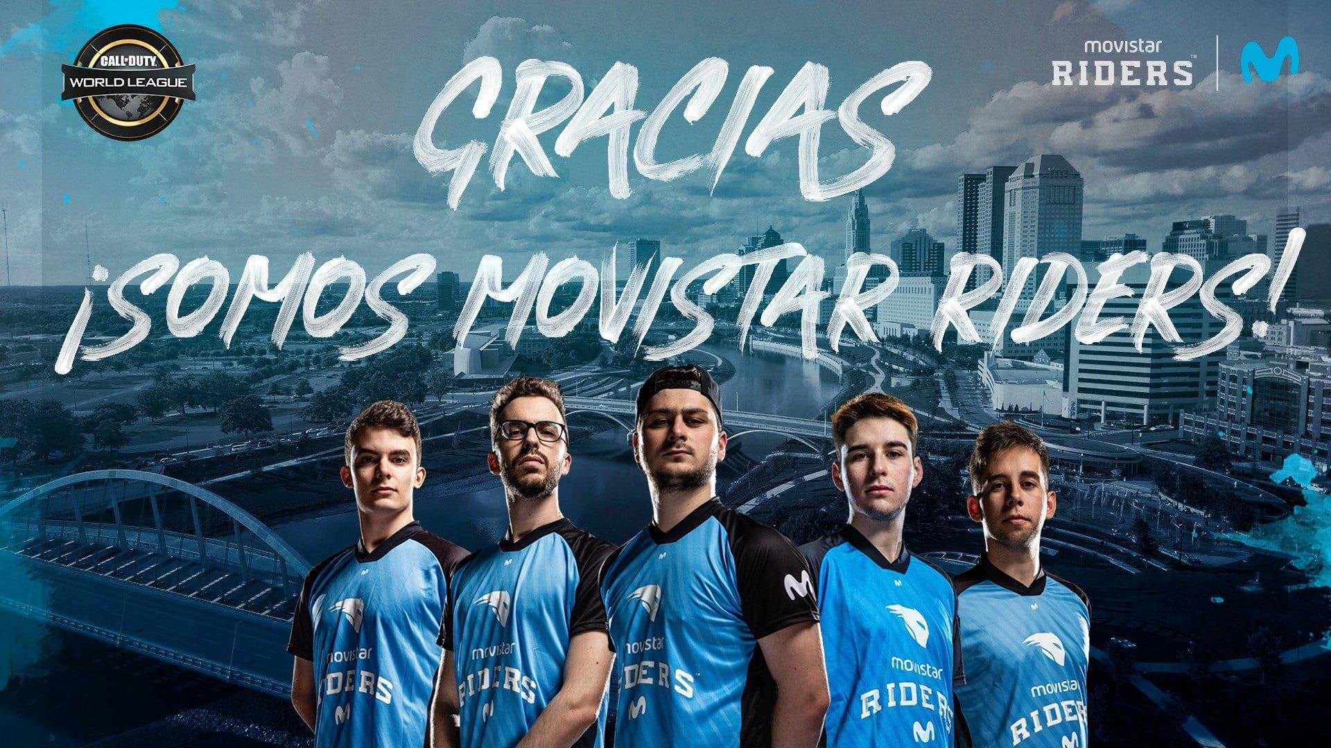Gracias Movistar Riders