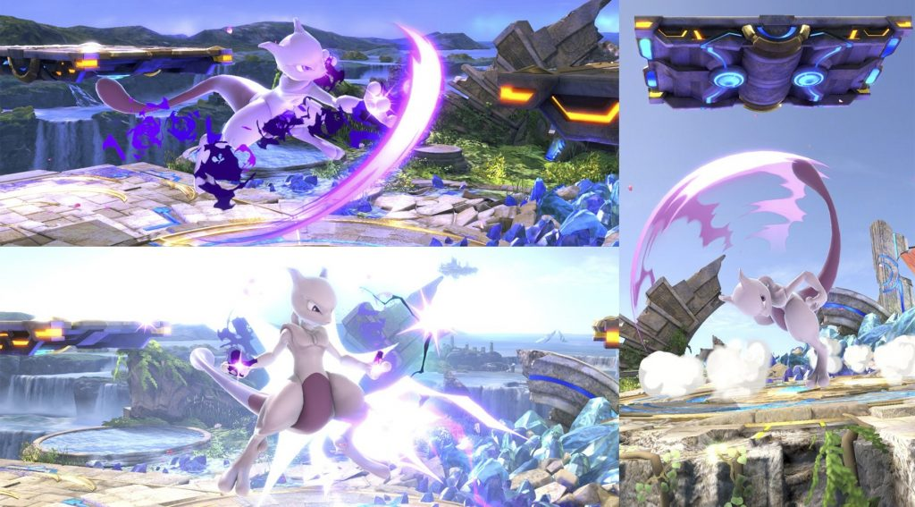 Fair, Nair y UpTilt Mewtwo Smash Ultimate