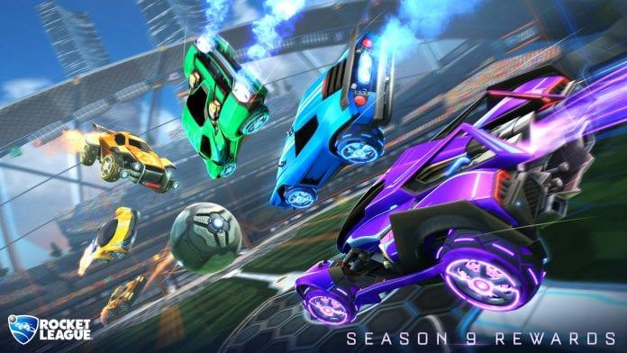 Recompensas de la temporada 9 de Rocket League