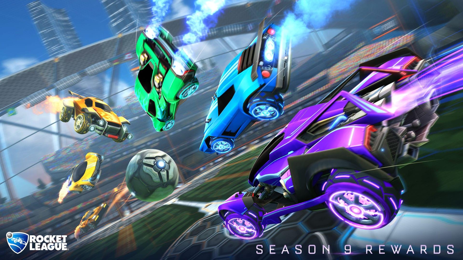 Recompensas de la temporada 9 de Rocket League - Full Esports