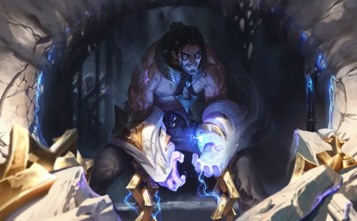 Splash art de Sylas