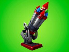 Cohetes Pirotécnicos en Fortnite