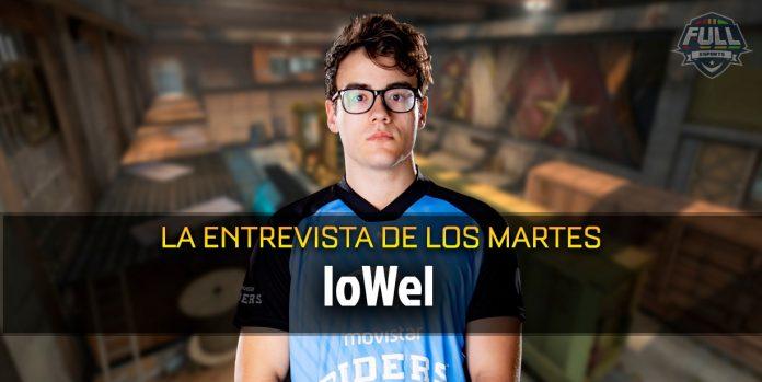 Entrevista a loWel, jugadore de #CSGO de Movistar Riders