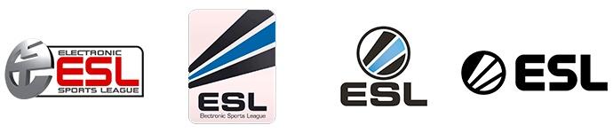 Evolución de la marca y logotipo de la ESL durante los últimos años