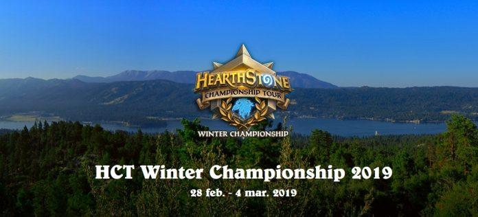 Elige a tu campeón del HCT Winter 2019 de Hearthstone