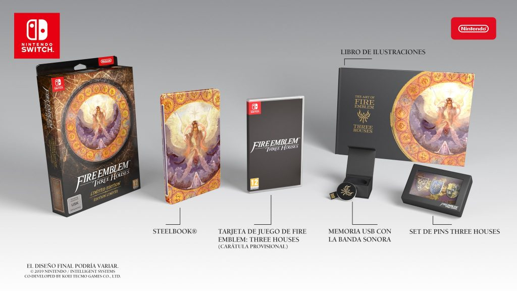 Limited Edition Fire Emblem Three Houses