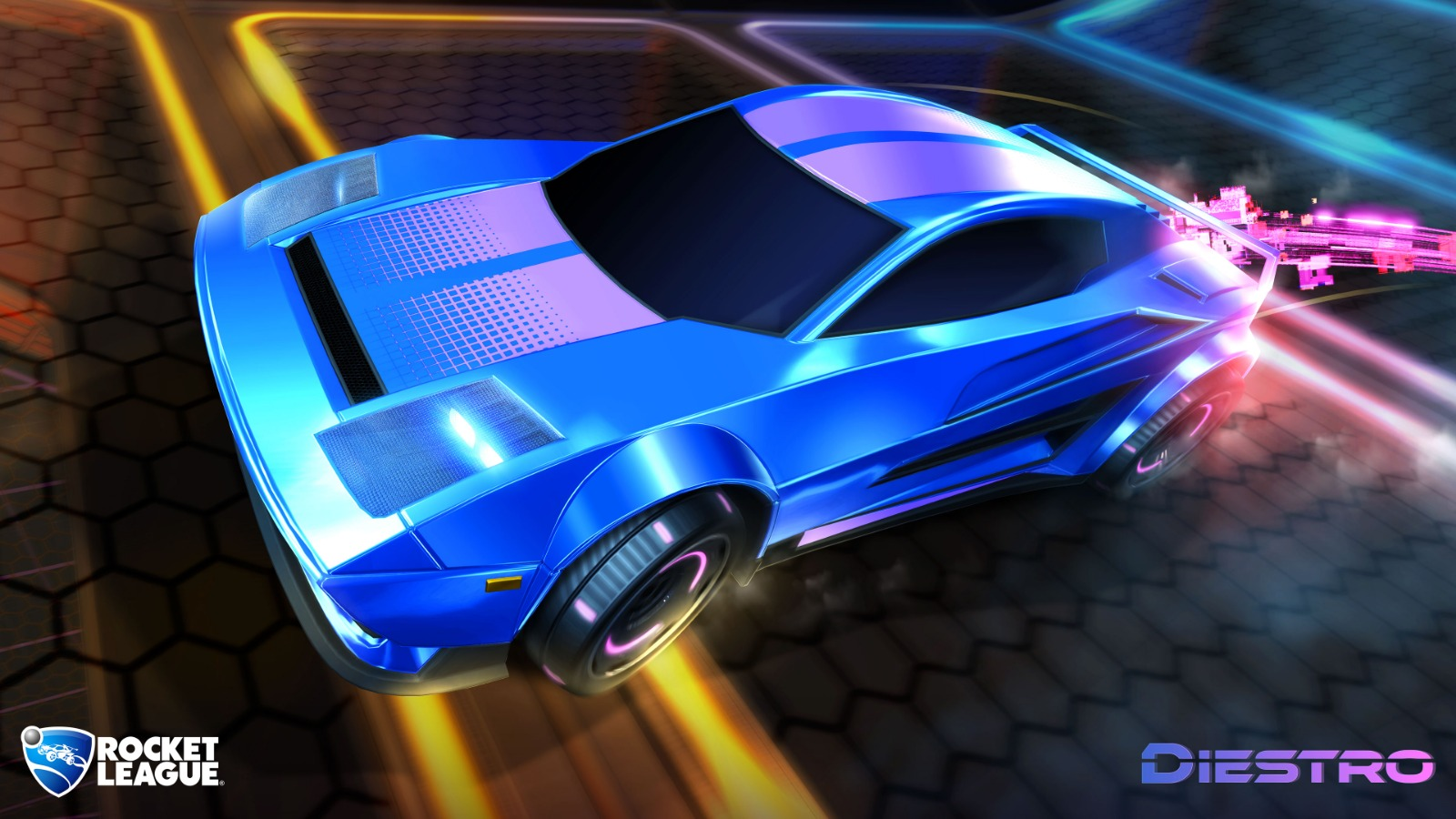 Diestro, nuevo coche de Rocket League
