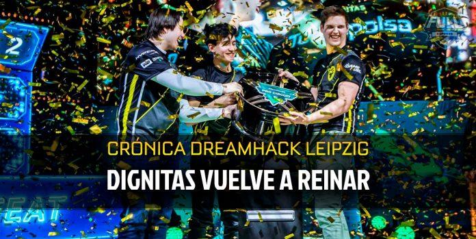 Dignitas vuelve a reinar tras ganar Dreamhack Leipzig 2019