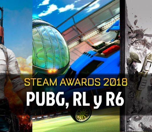 PUBG, Rocket League y R6, ganadores de los Steam Awards 2018
