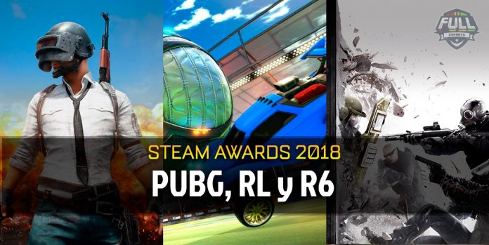 PUBG, Rocket League y R6, ganadores de los Steam Awards 2018