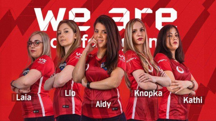 Vodafone Giants presenta su primer equipo femenino de CS:GO