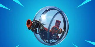 """El boloncho, o """"the baller"""" en inglés, será el nuevo vehículo de Fortnite"""