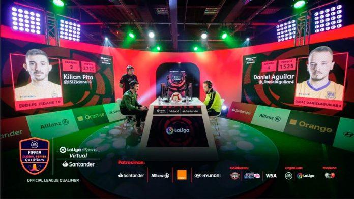 Zidane10 y DanielAguilar4 en Virtual LaLiga Esports