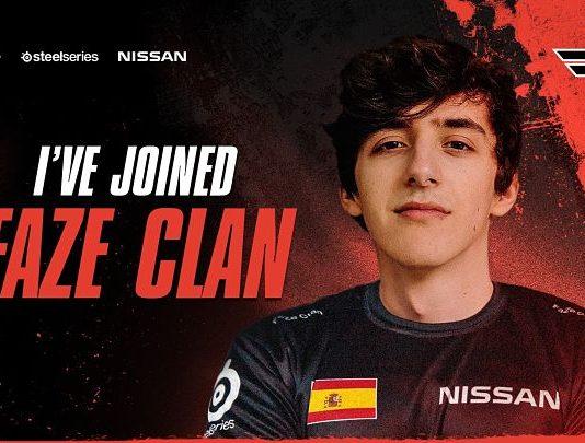Foto portada presentación de Vorwenn en Faze Clan