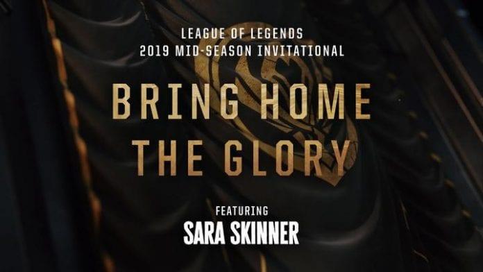 Bring Home the Glory, canción del Mid-Season Invitational de League of Legends.