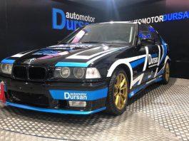 El BMW 320 E36 del Campeonato de España de Simulación.